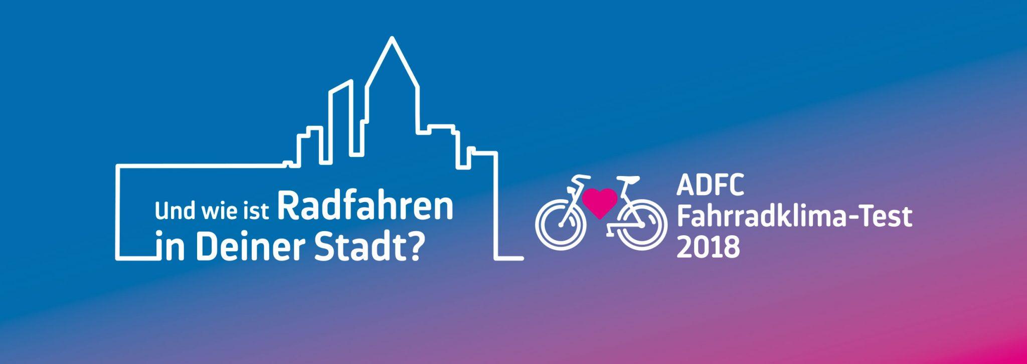 Banner ADFC Fahrradklima-Test