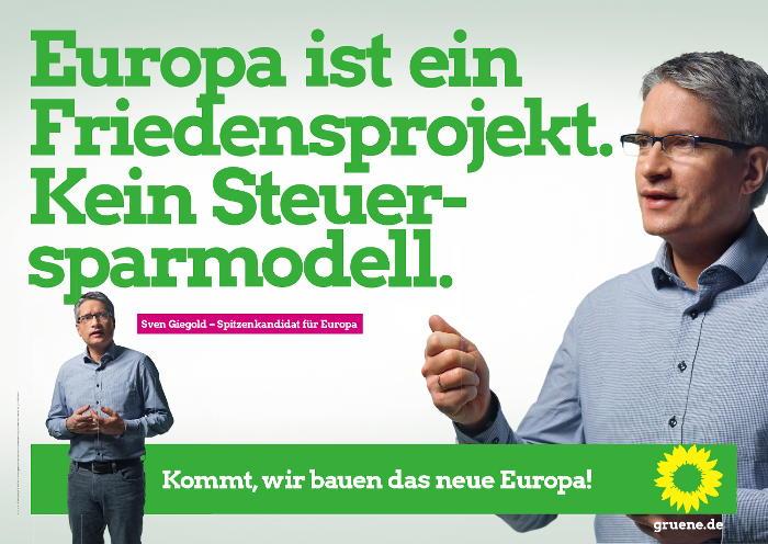 Europa ist ein Friedensprojekt, kein Steuersparmodell
