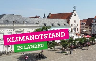 Klimanotstand in Landau