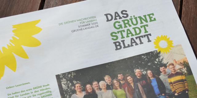 Das Grüne Stadtblatt