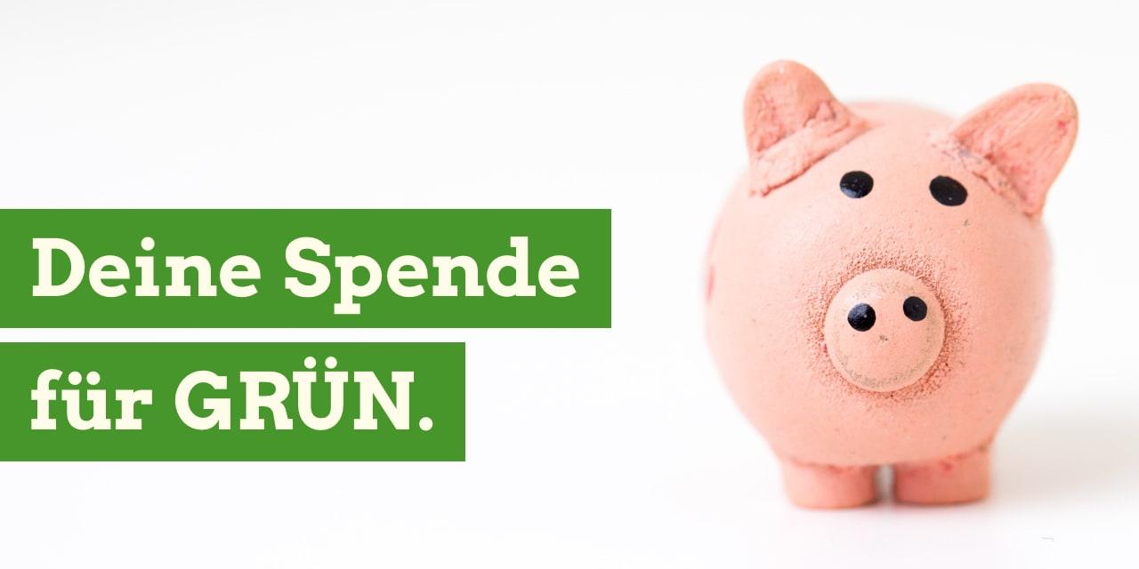 Deine Spende für GRÜN
